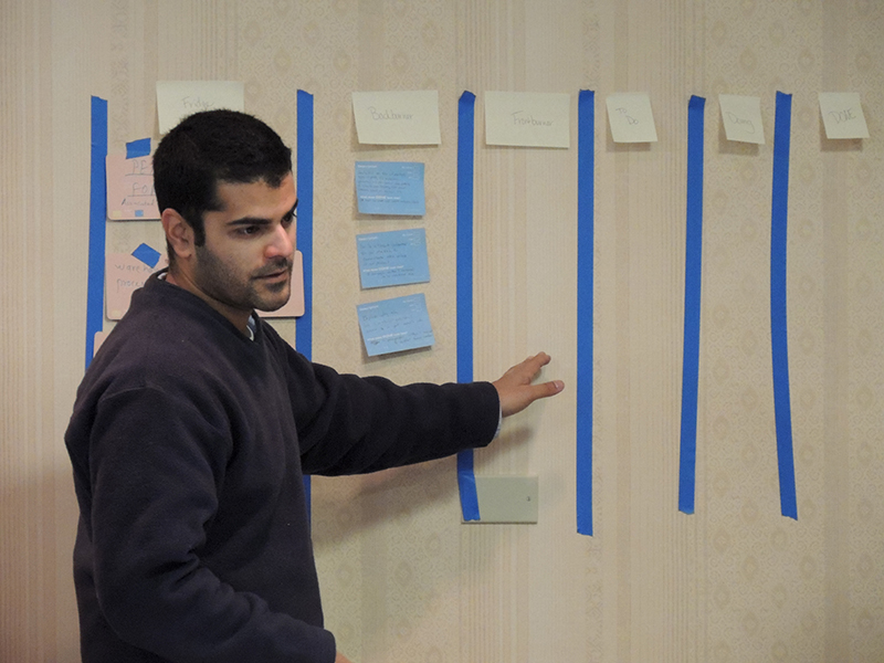 Scrum Master Training from 3Back