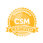 Certified Scrum Master training seal CSM
