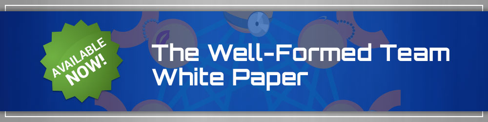 Coming Soon: The Well Formed Team White Paper
