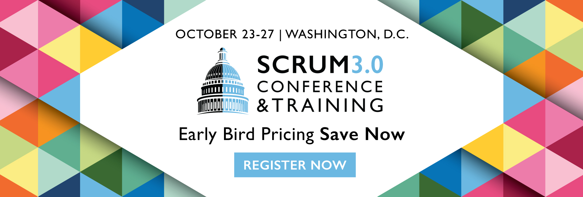 Scrum 3.0 Washington, D.C. 3Back Early Registration